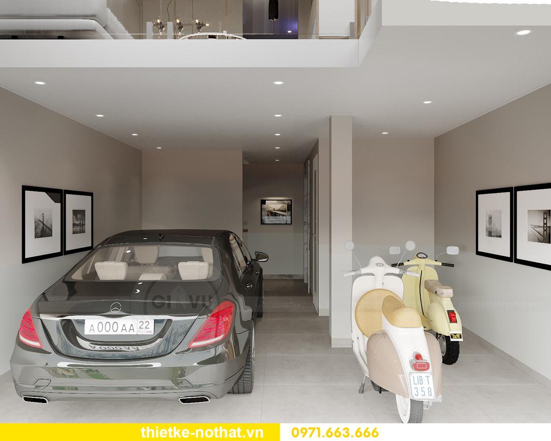 thiết kế nội thất nhà phố đẹp hiện đại tiện nghi 04