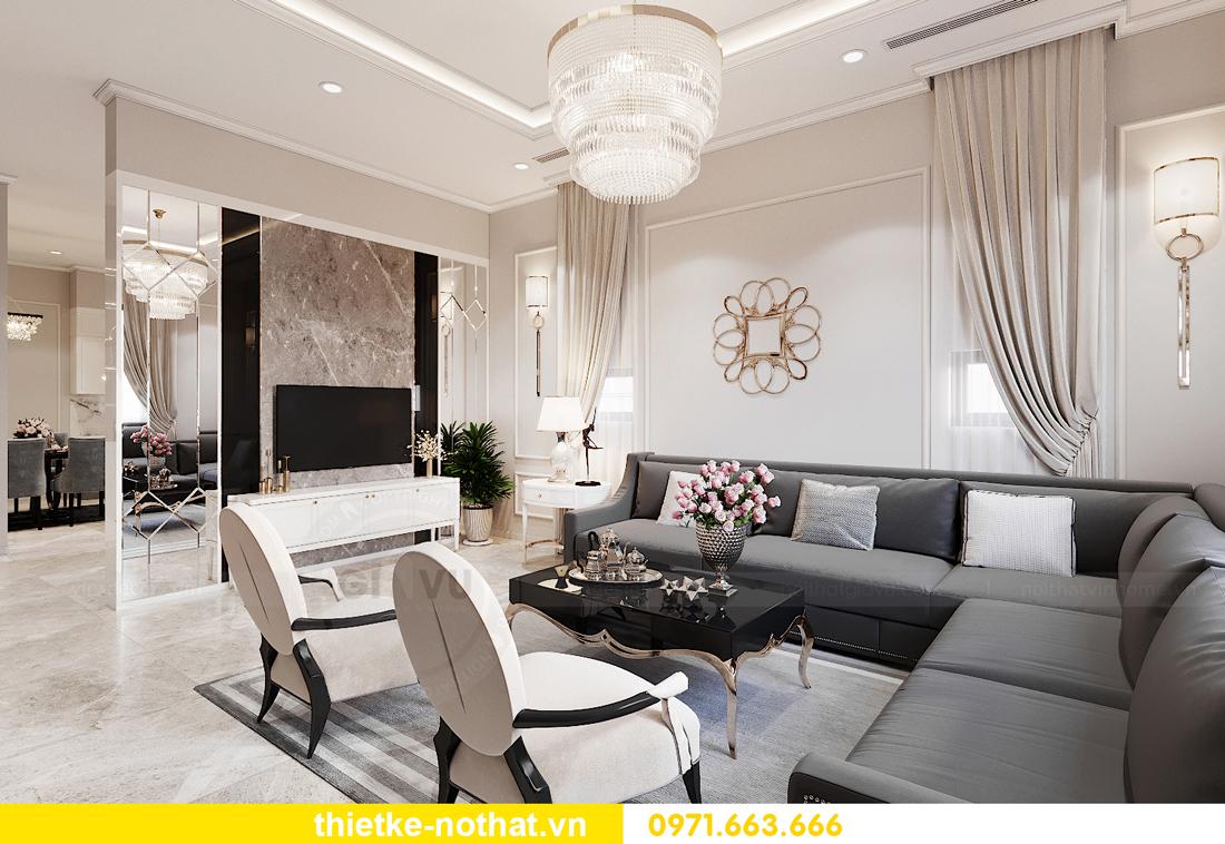 thiết kế nội thất nhà phố hiện đại tại Hải Dương nhà chị Ly 03