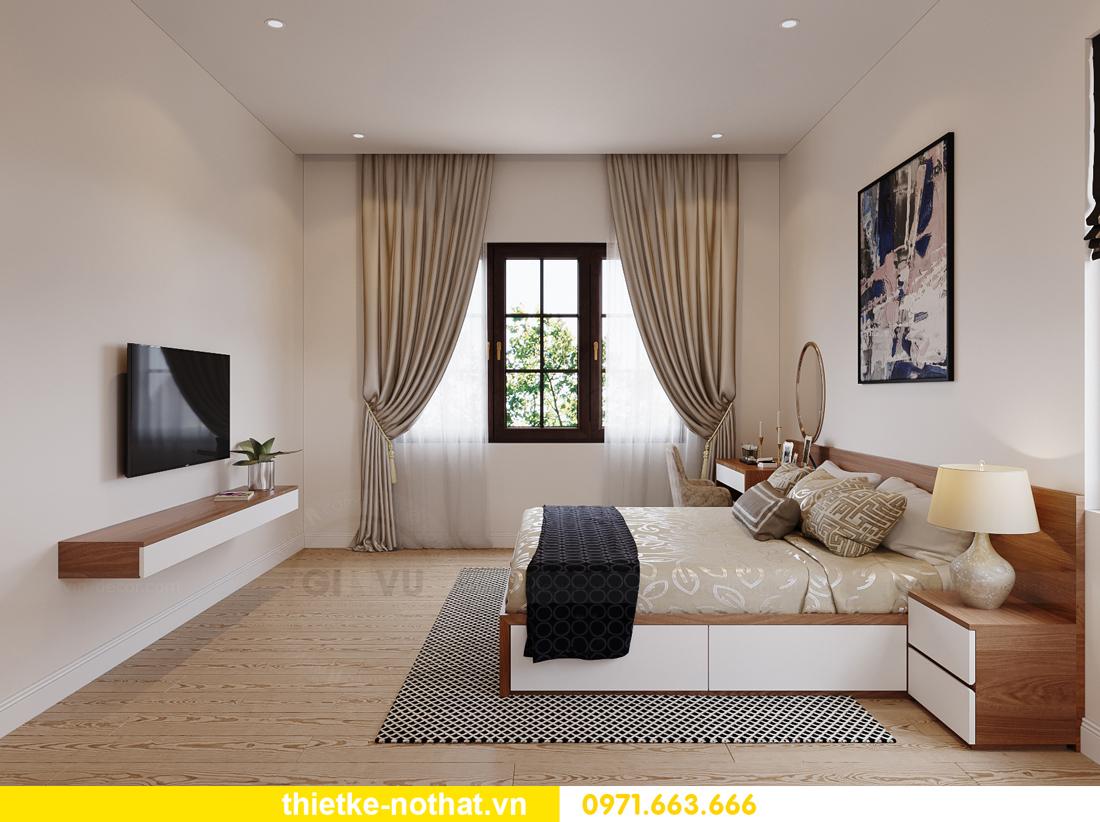 thiết kế nội thất nhà phố tại Hà Nội nhà chị Linh 13
