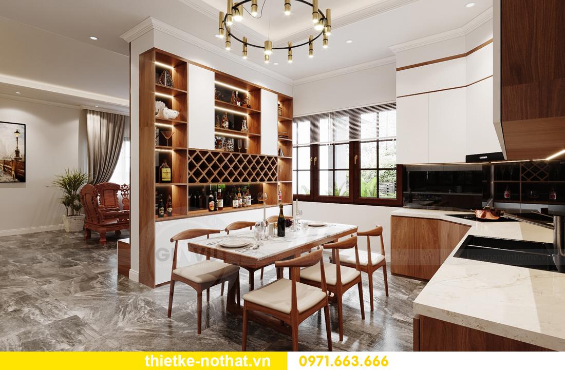 thiết kế nội thất nhà phố tại Hà Nội nhà chị Linh 4