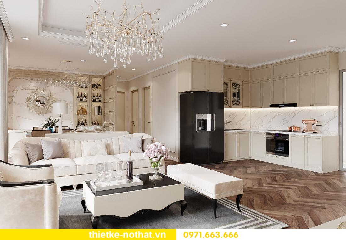 thiết kế nội thất tại Vinhomes Smart City hiện đại cuốn hút 2