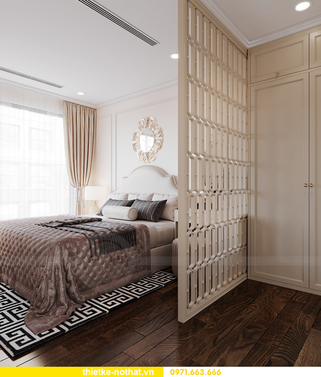 thiết kế nội thất tại Vinhomes Smart City hiện đại cuốn hút 8