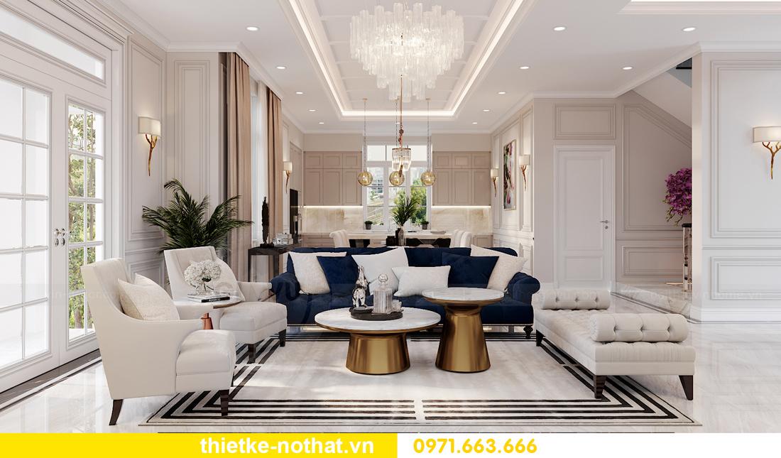 thiết kế nội thất biệt thự Vinhomes OCean Park khu Ngọc Trai 1