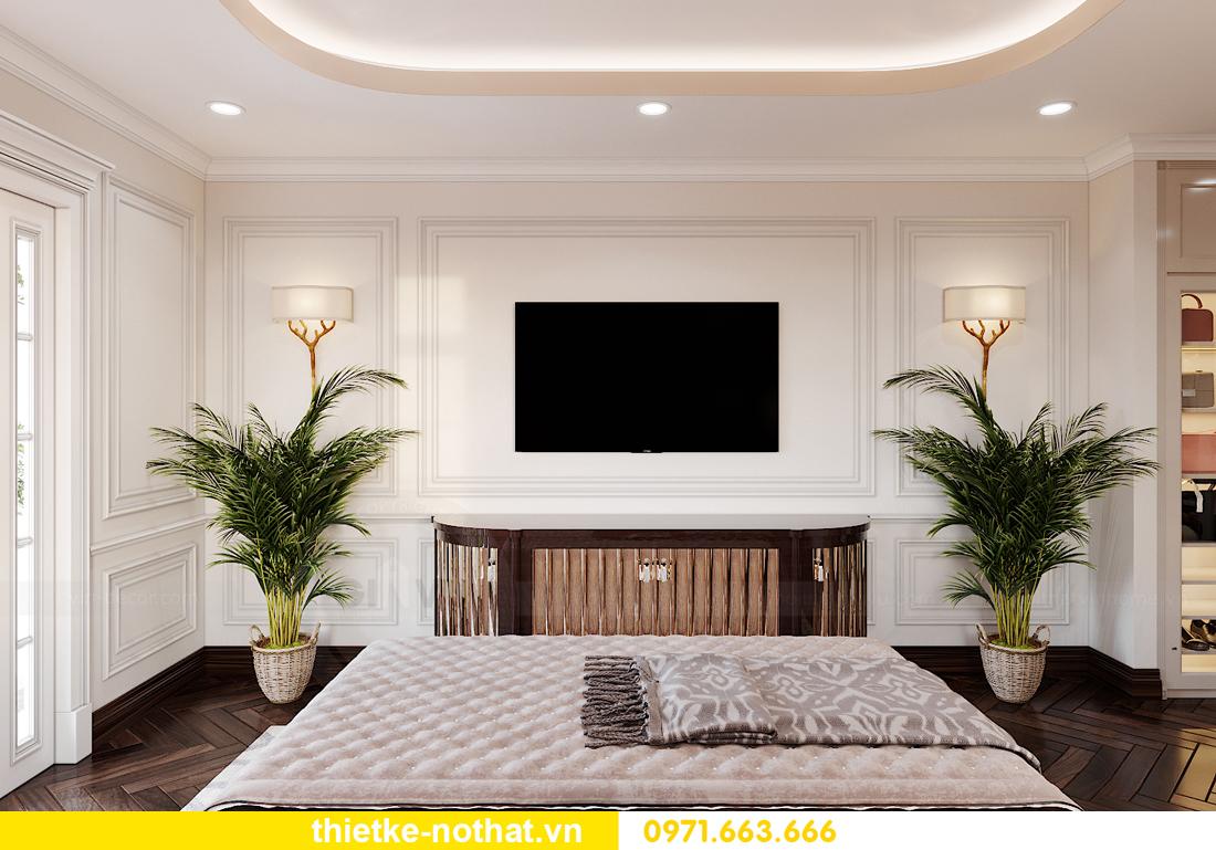 thiết kế nội thất biệt thự Vinhomes OCean Park khu Ngọc Trai 10