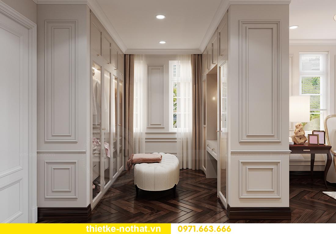 thiết kế nội thất biệt thự Vinhomes OCean Park khu Ngọc Trai 13