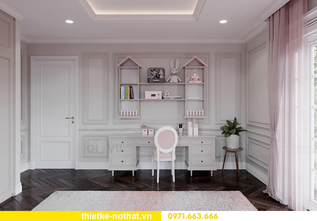 thiết kế nội thất biệt thự Vinhomes OCean Park khu Ngọc Trai 17