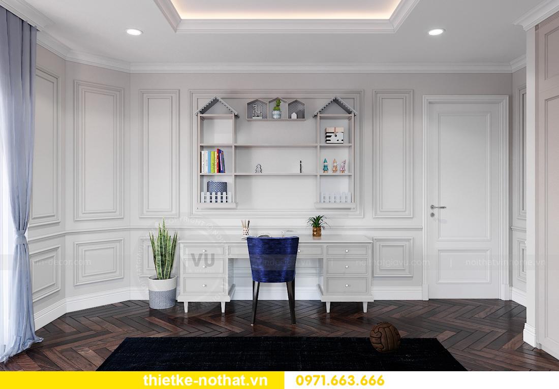 thiết kế nội thất biệt thự Vinhomes OCean Park khu Ngọc Trai 20