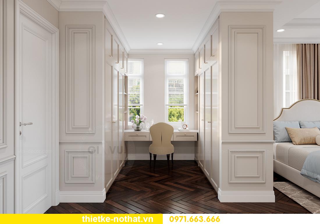 thiết kế nội thất biệt thự Vinhomes OCean Park khu Ngọc Trai 22
