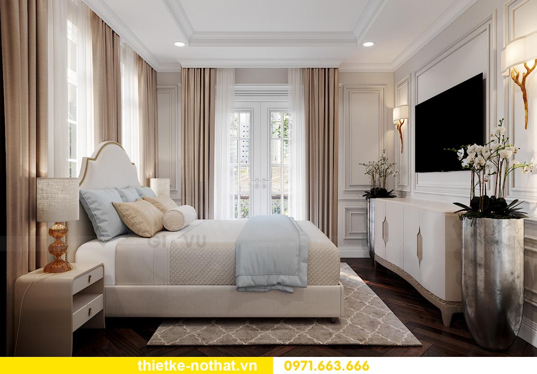thiết kế nội thất biệt thự Vinhomes OCean Park khu Ngọc Trai 24