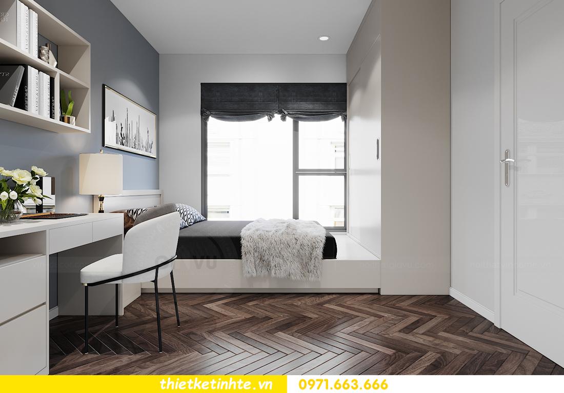 thiết kế nội thất căn hộ 06 tòa S1.01 chung cư Smart City 10