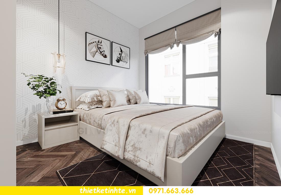 thiết kế nội thất căn hộ 06 tòa S1.01 chung cư Smart City 12