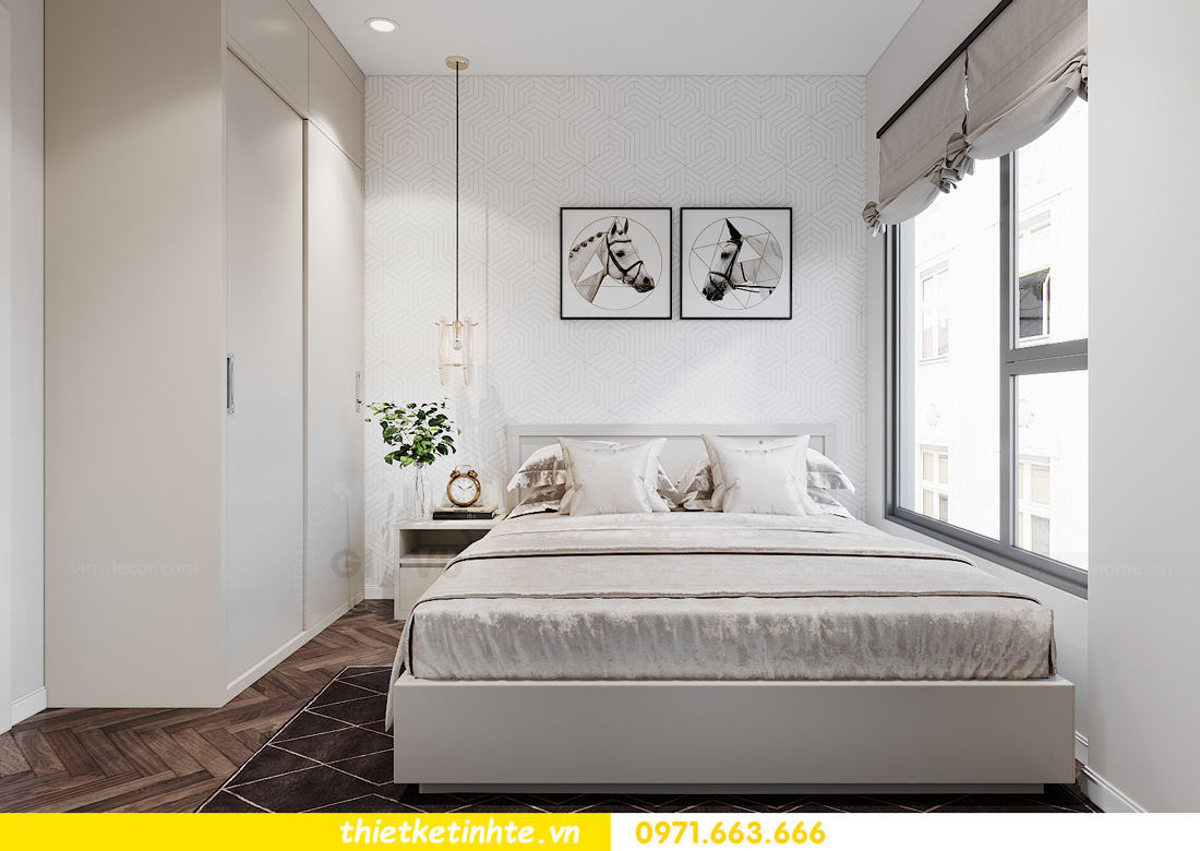 thiết kế nội thất căn hộ 06 tòa S1.01 chung cư Smart City 13