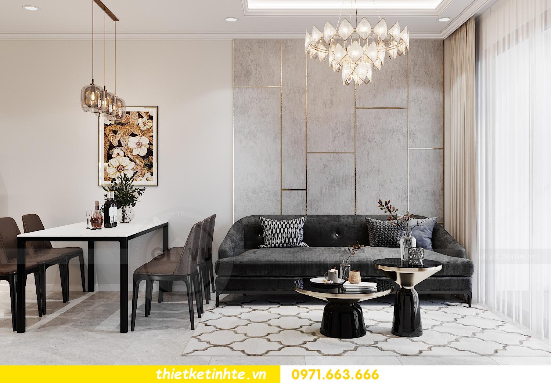 thiết kế nội thất căn hộ 06 tòa S1.01 chung cư Smart City 4