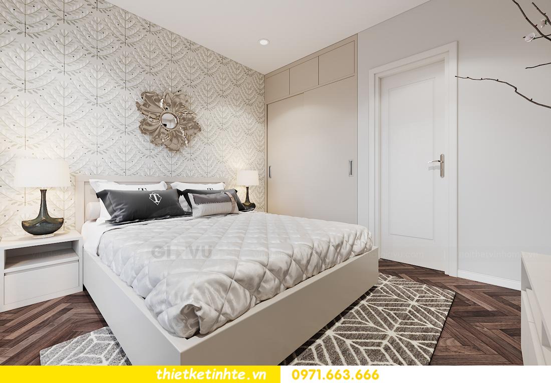 thiết kế nội thất căn hộ 06 tòa S1.01 chung cư Smart City 8