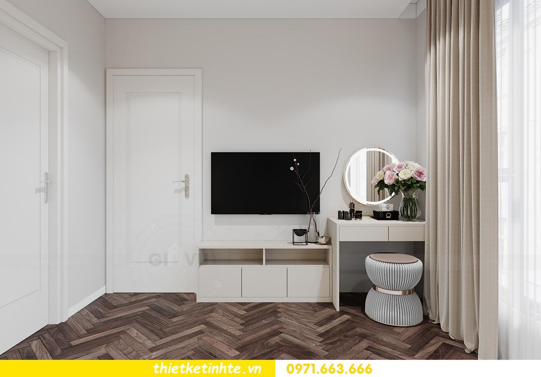thiết kế nội thất căn hộ 06 tòa S1.01 chung cư Smart City 9