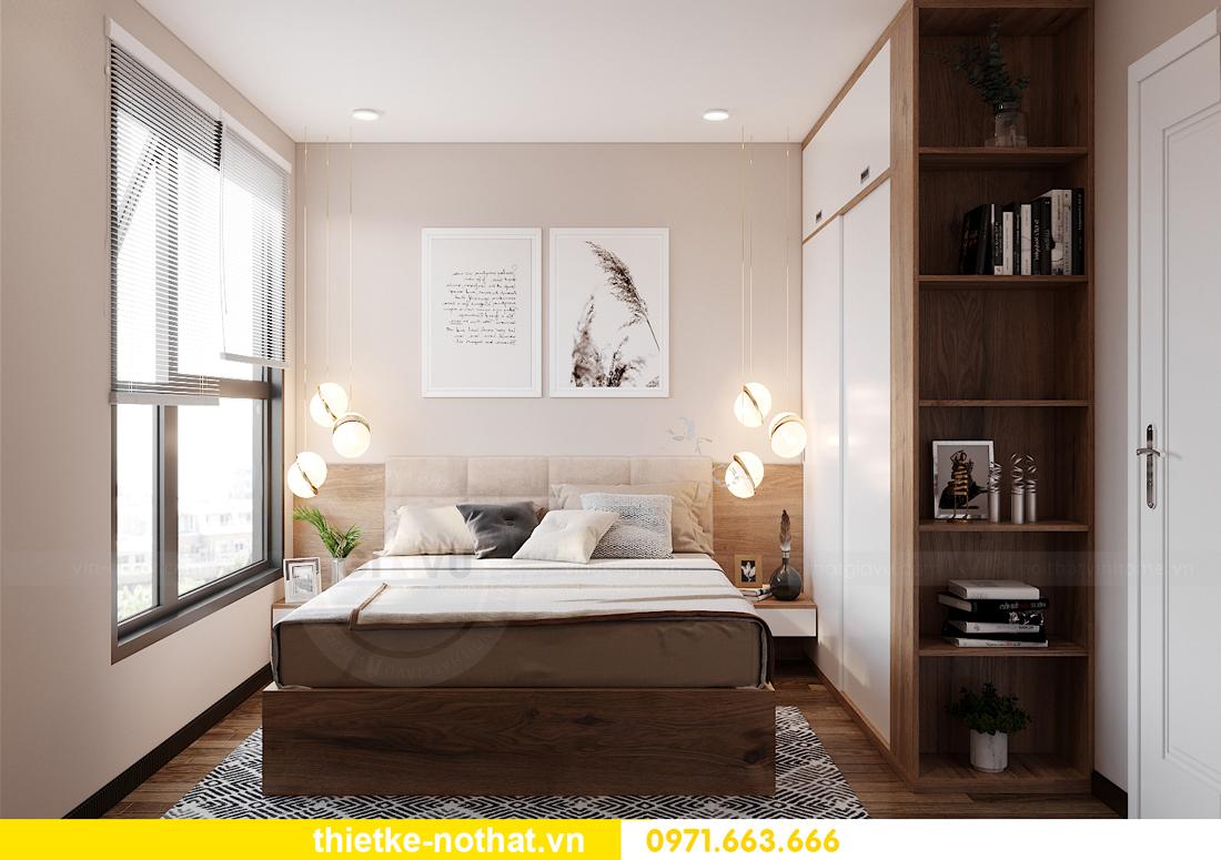 thiết kế nội thất căn hộ chung cư Smart City tòa S2.02 căn 01 11