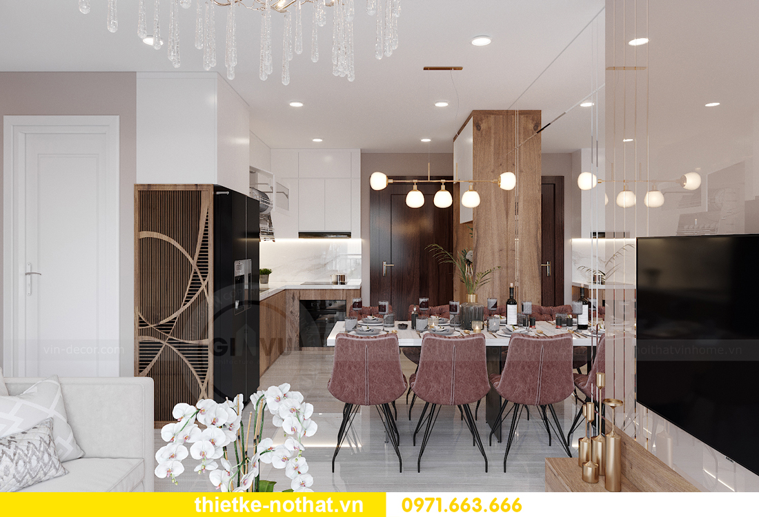 thiết kế nội thất căn hộ chung cư Smart City tòa S2.02 căn 01 2