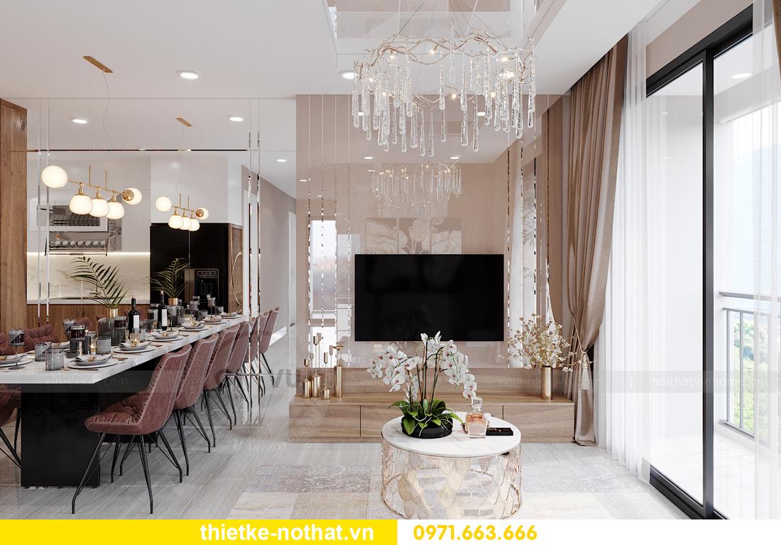 thiết kế nội thất căn hộ chung cư Smart City tòa S2.02 căn 01 3