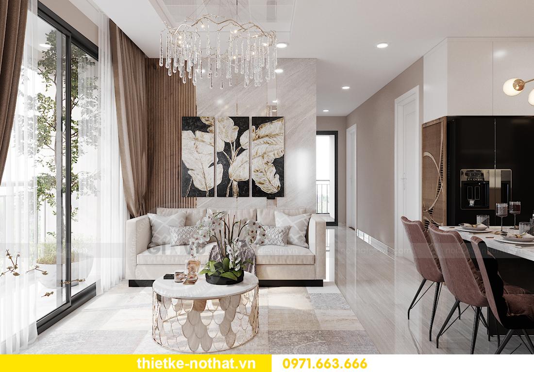 thiết kế nội thất căn hộ chung cư Smart City tòa S2.02 căn 01 4