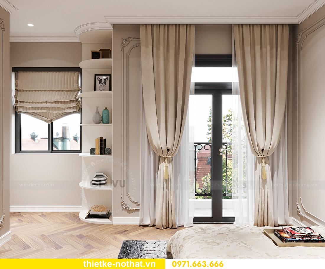 thiết kế nội thất biệt thự OCean Park phong cách tân cổ điển 12