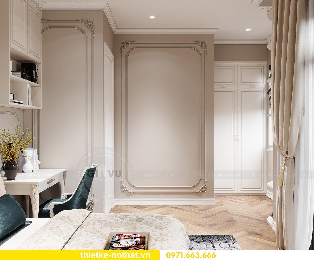 thiết kế nội thất biệt thự OCean Park phong cách tân cổ điển 13