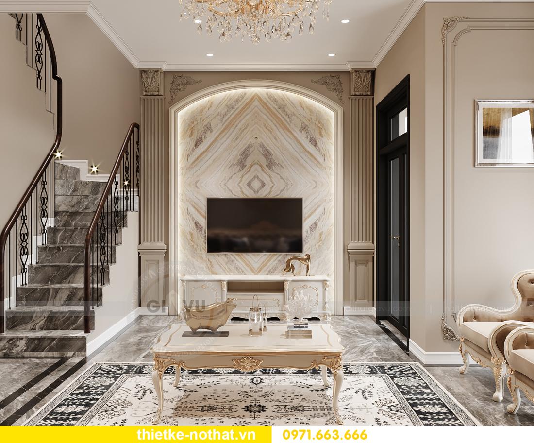 thiết kế nội thất biệt thự OCean Park phong cách tân cổ điển 3