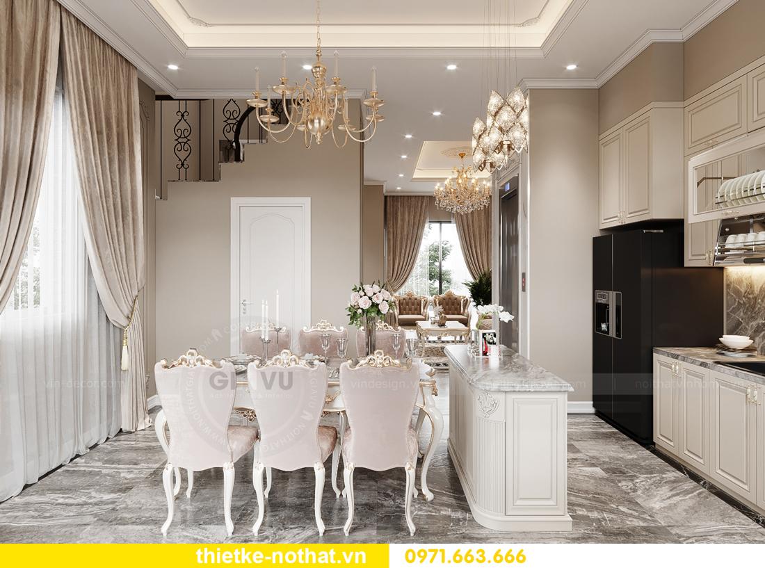 thiết kế nội thất biệt thự OCean Park phong cách tân cổ điển 4