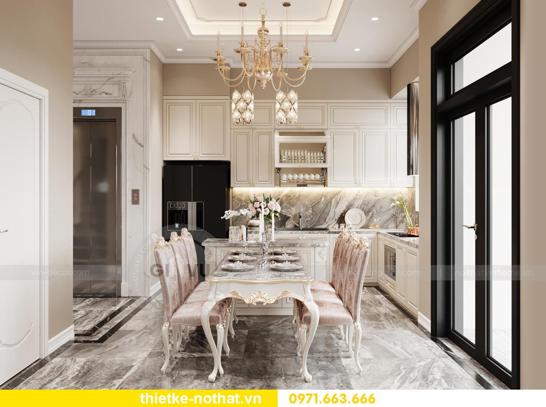 thiết kế nội thất biệt thự OCean Park phong cách tân cổ điển 5