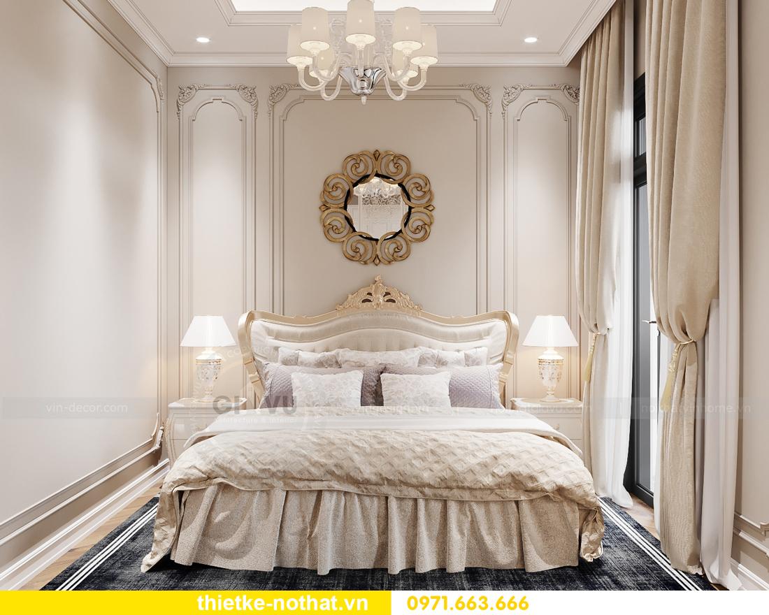 thiết kế nội thất biệt thự OCean Park phong cách tân cổ điển 9