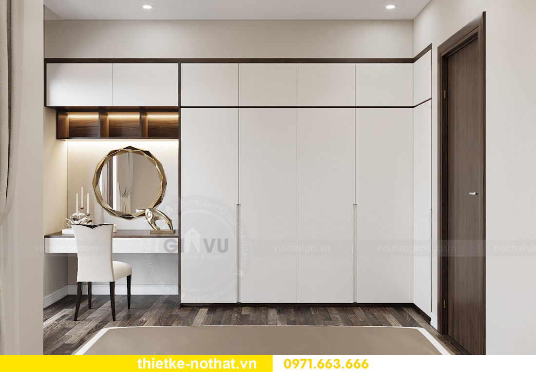 thiết kế nội thất biệt thự tại Vinhomes OCean Park nhà anh Tú 12