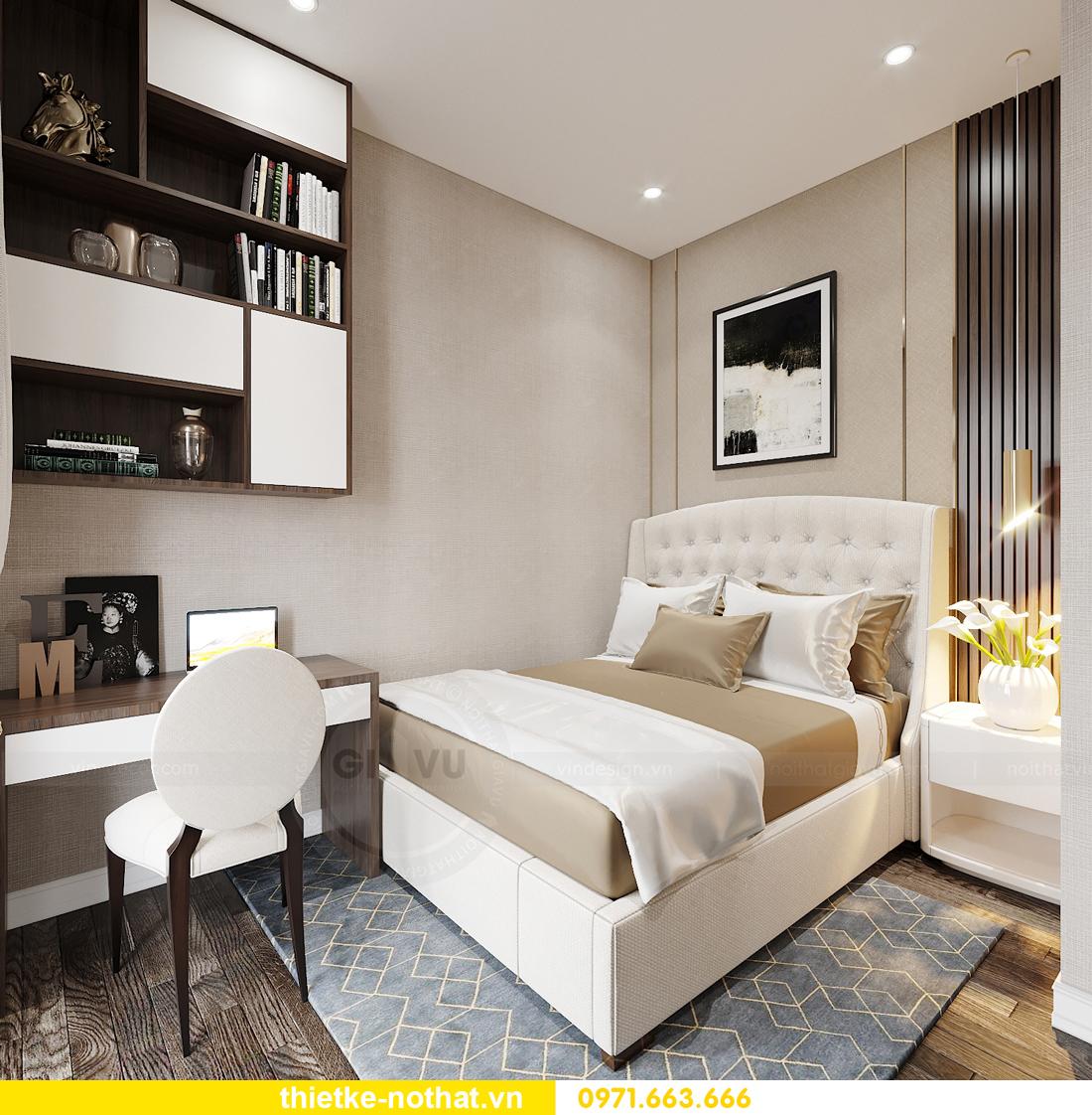 thiết kế nội thất biệt thự tại Vinhomes OCean Park nhà anh Tú 20