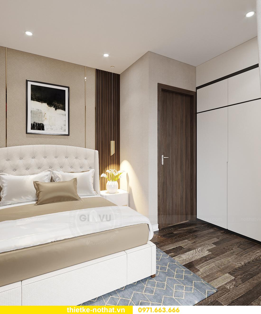 thiết kế nội thất biệt thự tại Vinhomes OCean Park nhà anh Tú 21