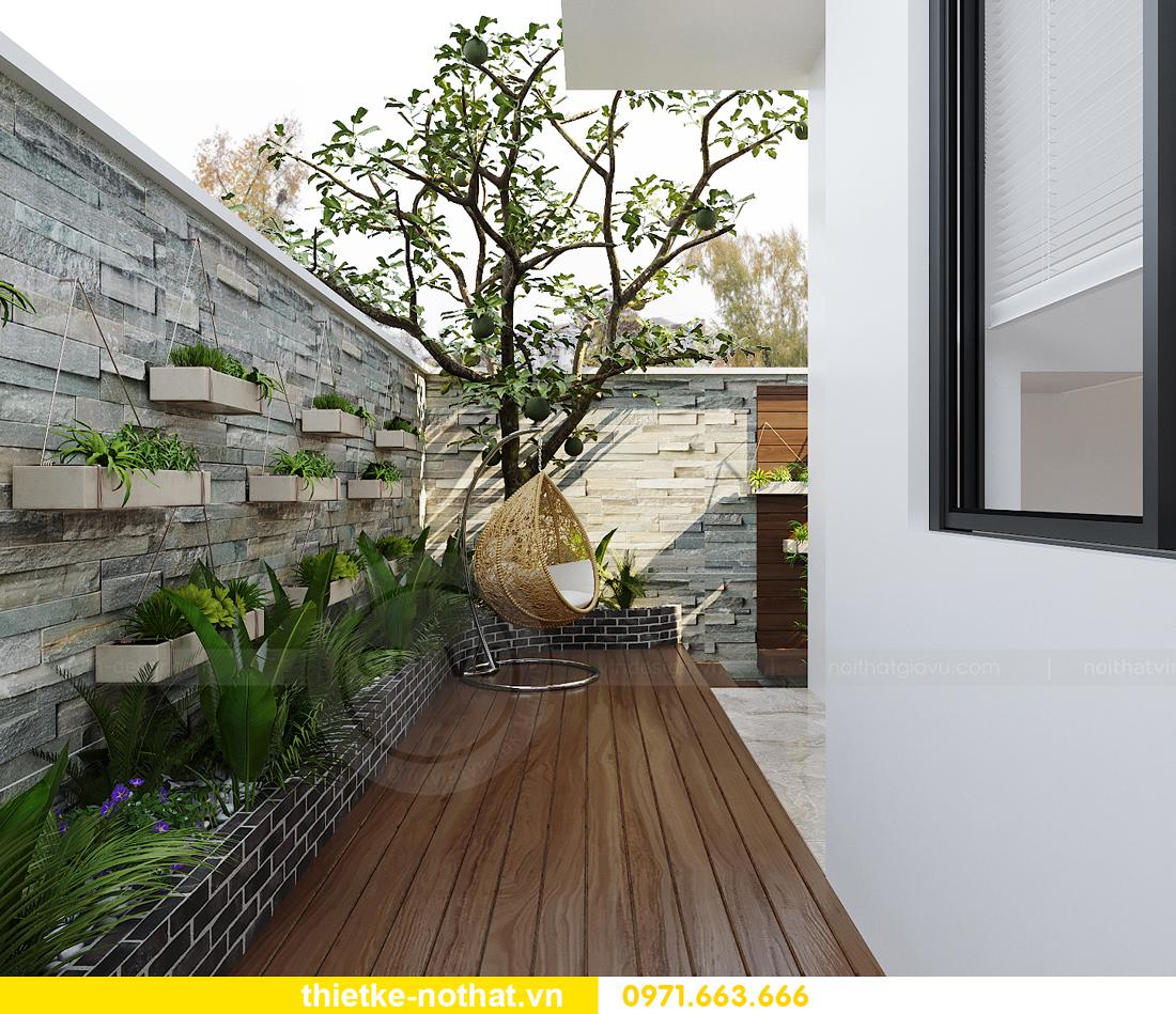 thiết kế nội thất biệt thự tại Vinhomes OCean Park nhà anh Tú 25