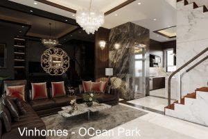 Thiết Kế Nội Thất Biệt Thự Tại Vinhomes OCean Park Nhà Anh Tú