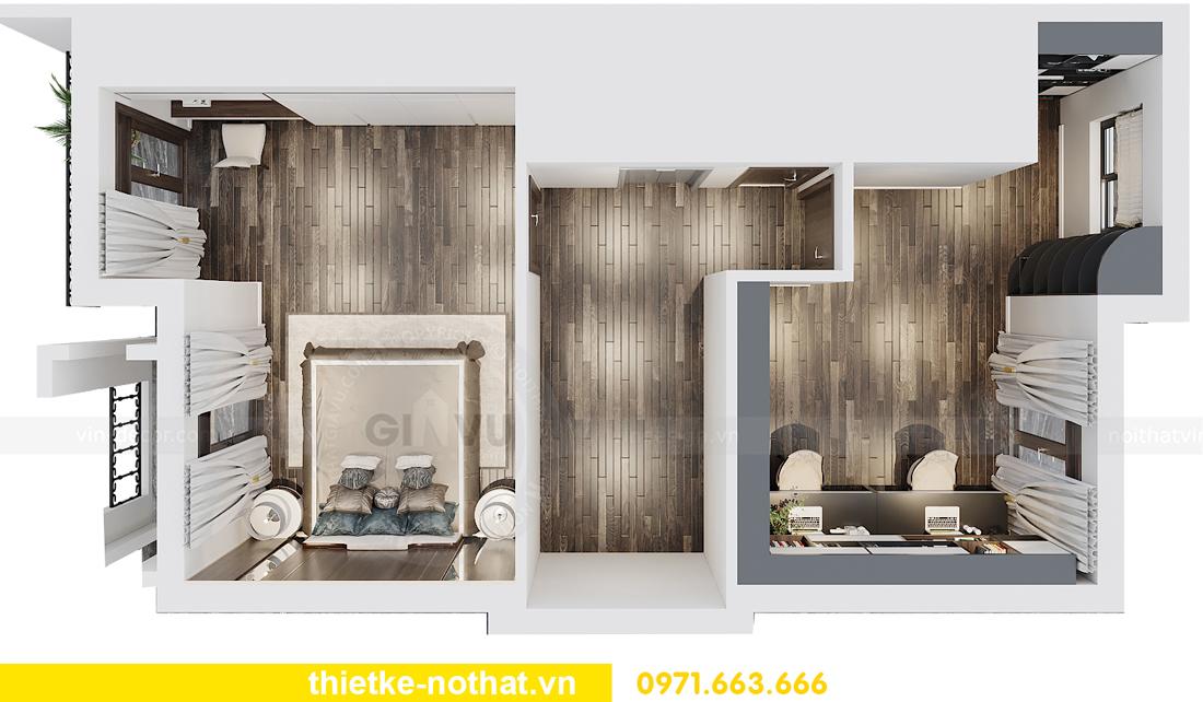 thiết kế nội thất biệt thự tại Vinhomes OCean Park nhà anh Tú 9