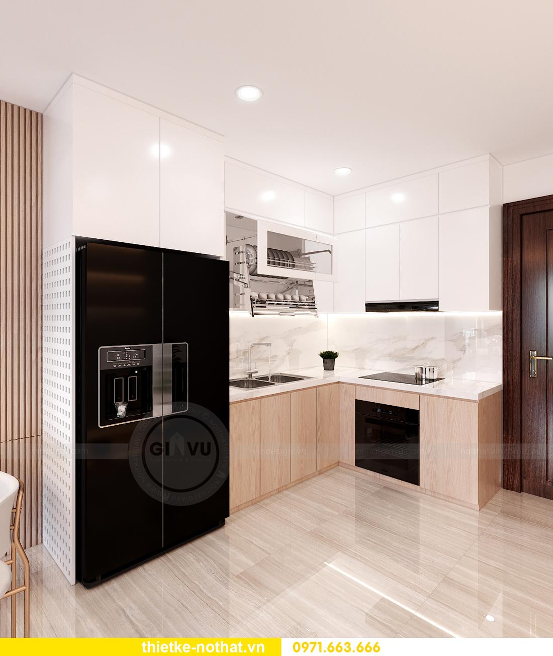 thiết kế nội thất căn hộ 2 phòng ngủ tại Vinhomes Smart City 2