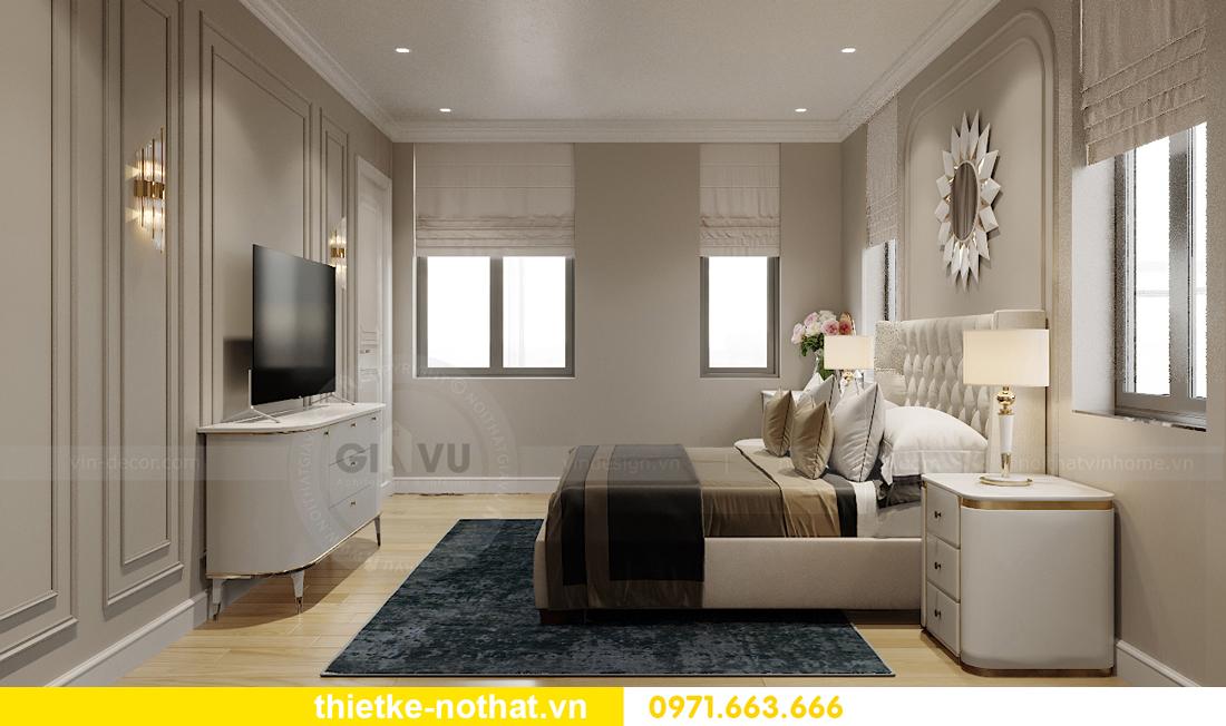 thiết kế nội thất biệt thự đẹp nhà anh Sơn Hải Phòng 10