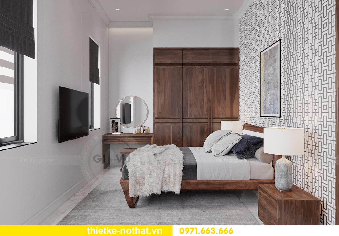 thiết kế nội thất biệt thự đẹp nhà anh Sơn Hải Phòng 15