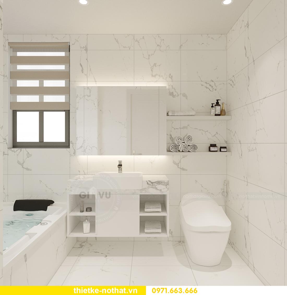 thiết kế nội thất biệt thự đẹp nhà anh Sơn Hải Phòng 16