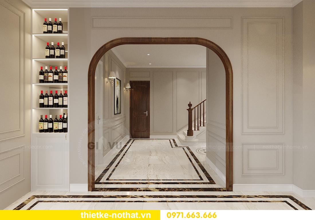 thiết kế nội thất biệt thự đẹp nhà anh Sơn Hải Phòng 6