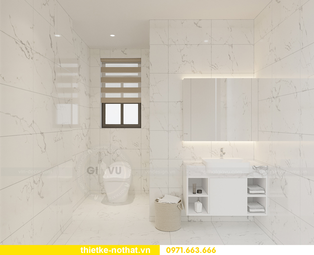 thiết kế nội thất biệt thự đẹp nhà anh Sơn Hải Phòng 8