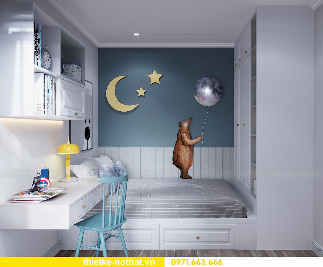 thiết kế nội thất căn hộ chung cư Smart City nhà anh Vũ 11