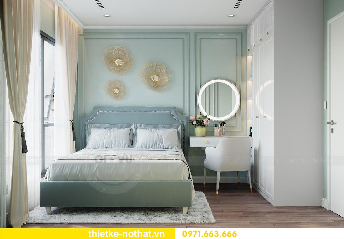 thiết kế nội thất căn hộ chung cư Smart City nhà anh Vũ 7