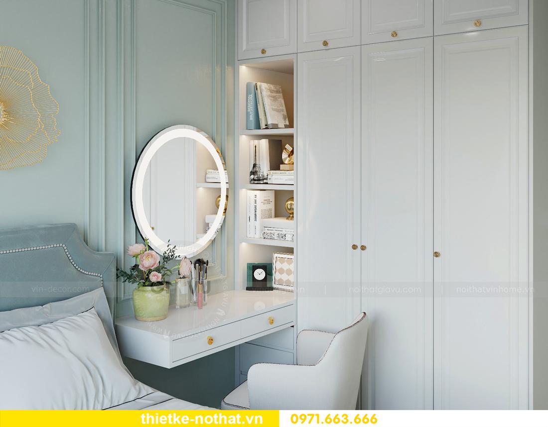 thiết kế nội thất căn hộ chung cư Smart City nhà anh Vũ 8