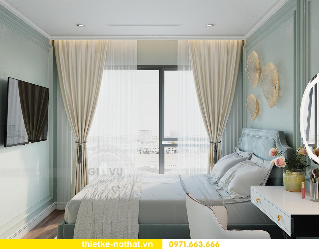 thiết kế nội thất căn hộ chung cư Smart City nhà anh Vũ 9