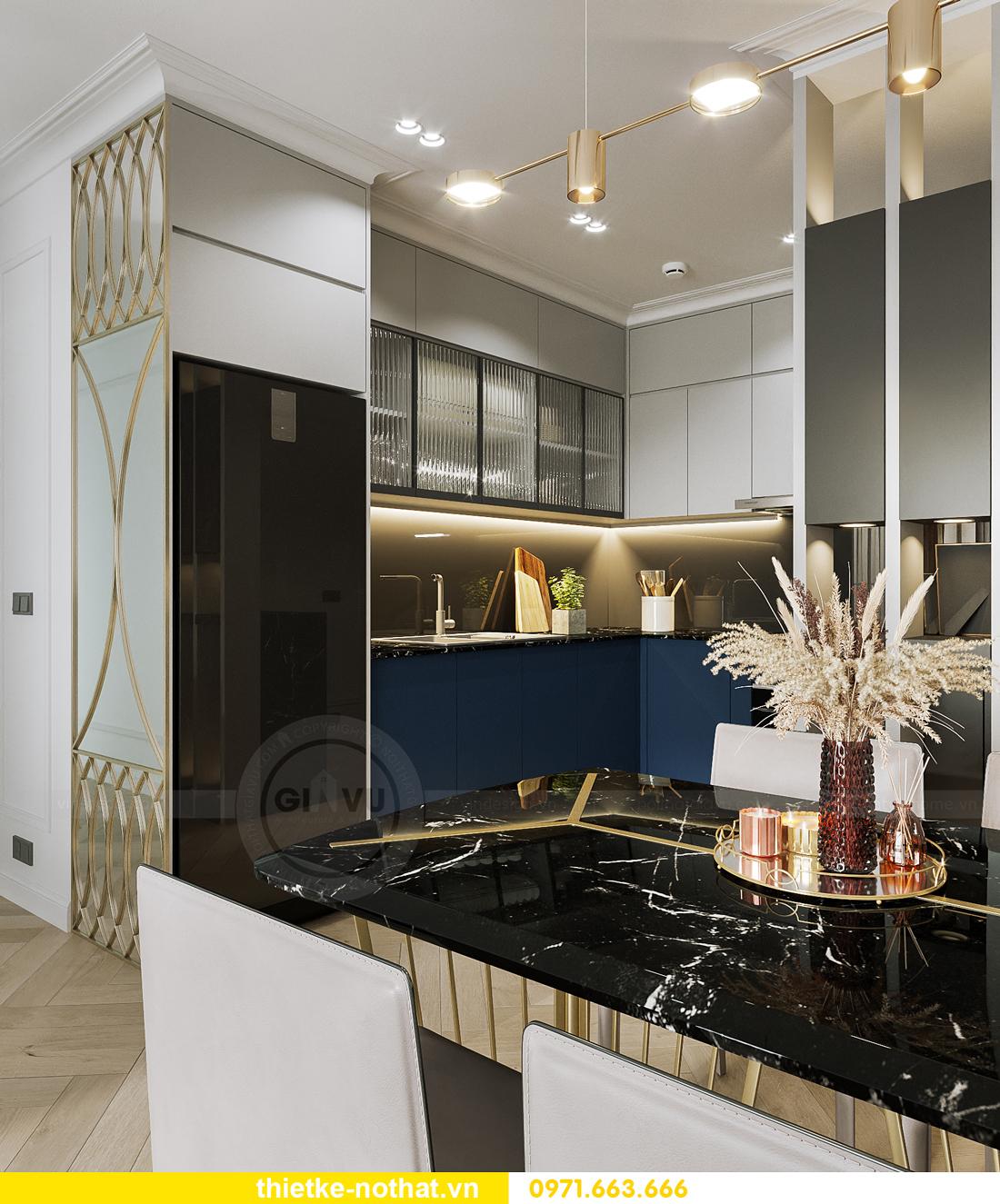 thiết kế nội thất Smart City tòa S102 căn 17 nhà chị Hà 3