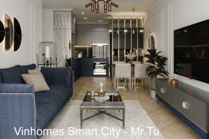 Thiết Kế Nội Thất Smart City Tòa S102 Căn 17 Nhà Chị Hà