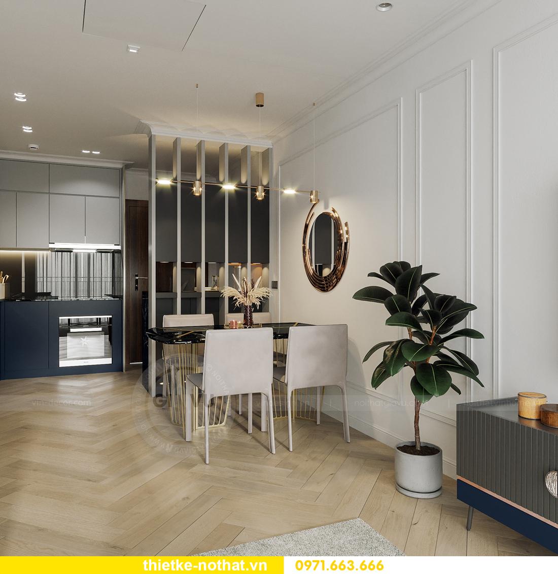 thiết kế nội thất Smart City tòa S102 căn 17 nhà chị Hà 4