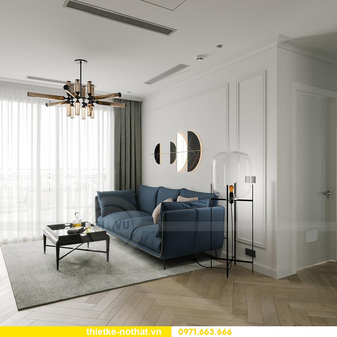 thiết kế nội thất Smart City tòa S102 căn 17 nhà chị Hà 7