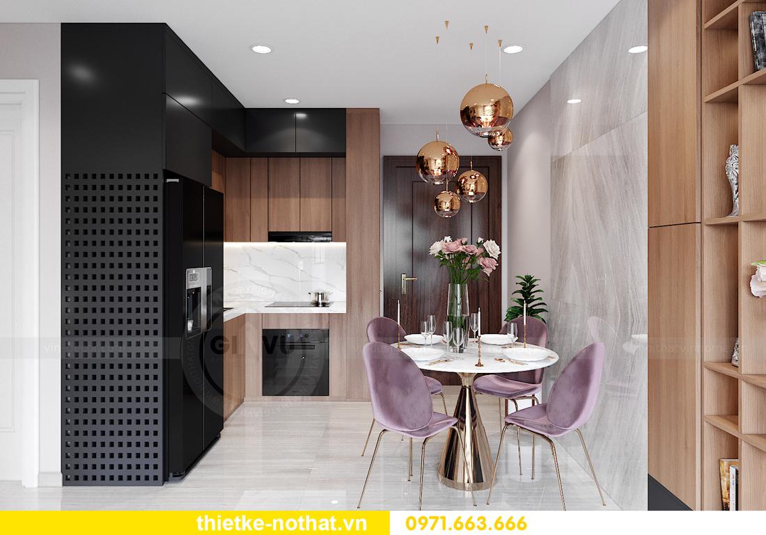 thiết kế thi công nội thất Smart City tòa S202 căn 17 chị Vy 1